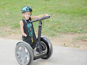 James-on-Segway